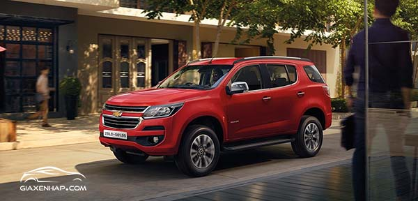 Top 7 SUV 2019 - Chevrolet Trailblazer