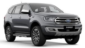 Ford Everest màu Xám Meteor