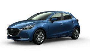 Mazda 2 Sport màu Eternal Blue