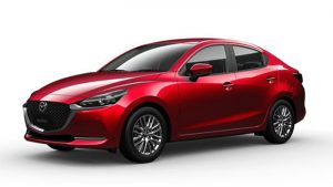 Mazda 2 Sedan màu Soul Red Crystal Metallic