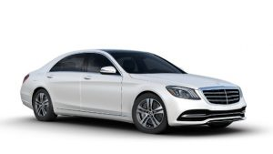 Mercedes-Benz S450L màu Diamond White Metallic