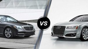 Mercedes-Benz S450 L vs Audi A8
