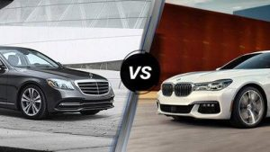 Mercedes-Benz S450 L vs BMW 7-Series
