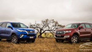 Ford Everest vs Toyota Fortuner