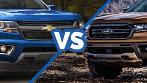 Ford Ranger vs Chevrolet Colorado