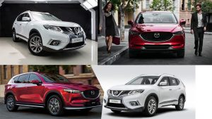 SO GĂNG NISSAN X-TRAIL VỚI MAZDA CX-5