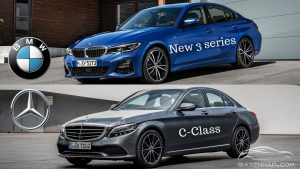 MERCEDES-BENZ C-CLASS 2019 VỚI BMW 3 SERIES 2019