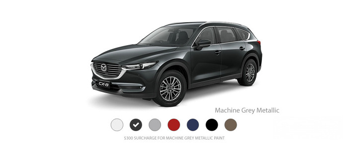 Mazda CX-8: Machine Grey