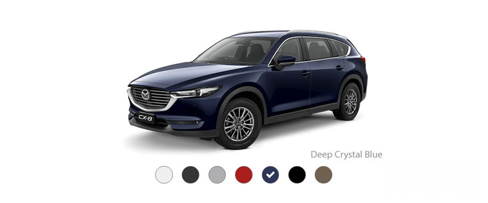 Mazda CX-8: Deep Crystal Blue