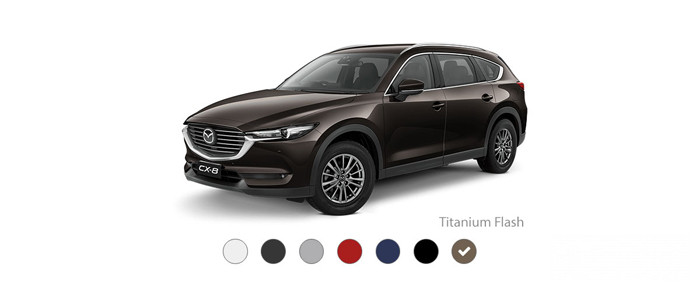 Mazda CX-8: Titanium Flash Brown
