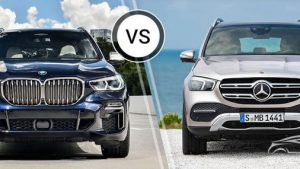 So sánh BMW X5 vs Mercedes-Benz GLE
