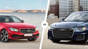 Mercedes-Benz E200 Sport vs Audi A6