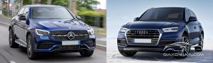Mercedes-Benz GLC-Class 2020 vs Audi Q5 2019