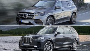 BMW X7 2020 vs Mercedes-Benz GLS
