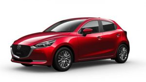 Mazda 2 Sport màu Soul Red Crystal Metallic