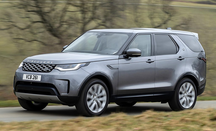 Ngoại thất xe Land Rover Discovery